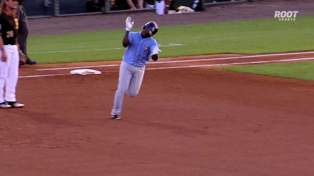 Odorizzi solid as Rays top Pirates