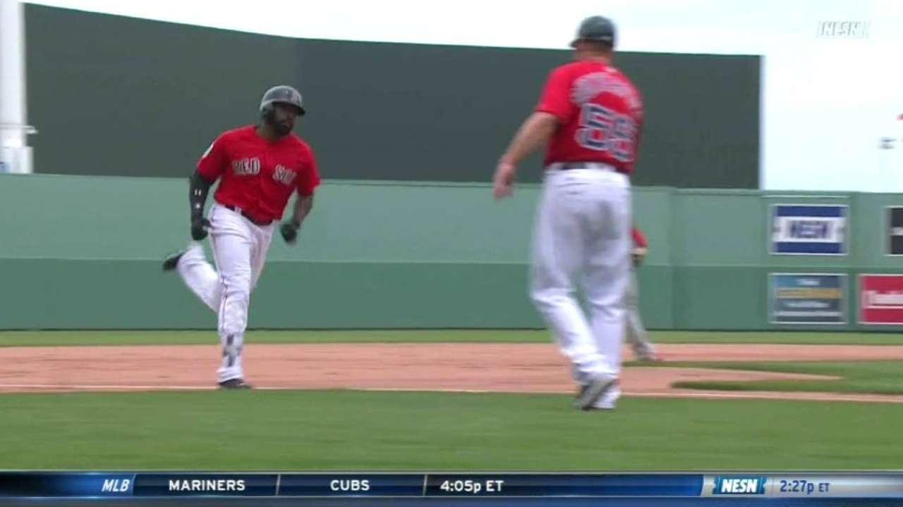 Bradley Jr., Bogaerts homer as Sox beat Phils