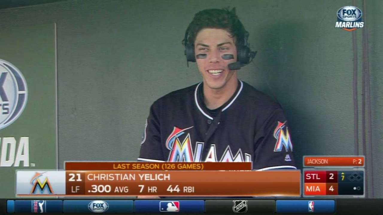 Yelich discusses upcoming year