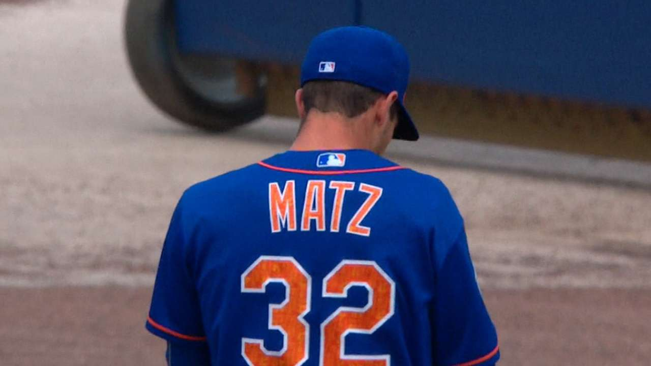 Matz rebounds with best results of the spring