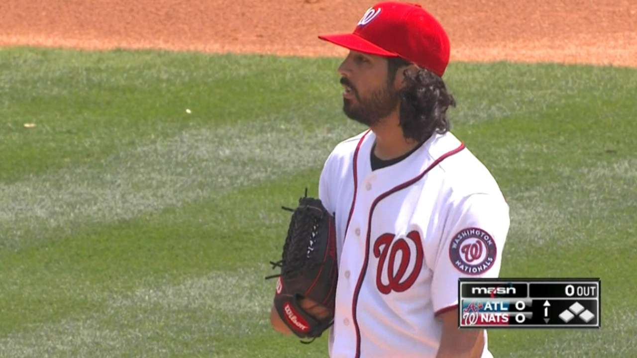 Gonzalez has solid start after slowing game down