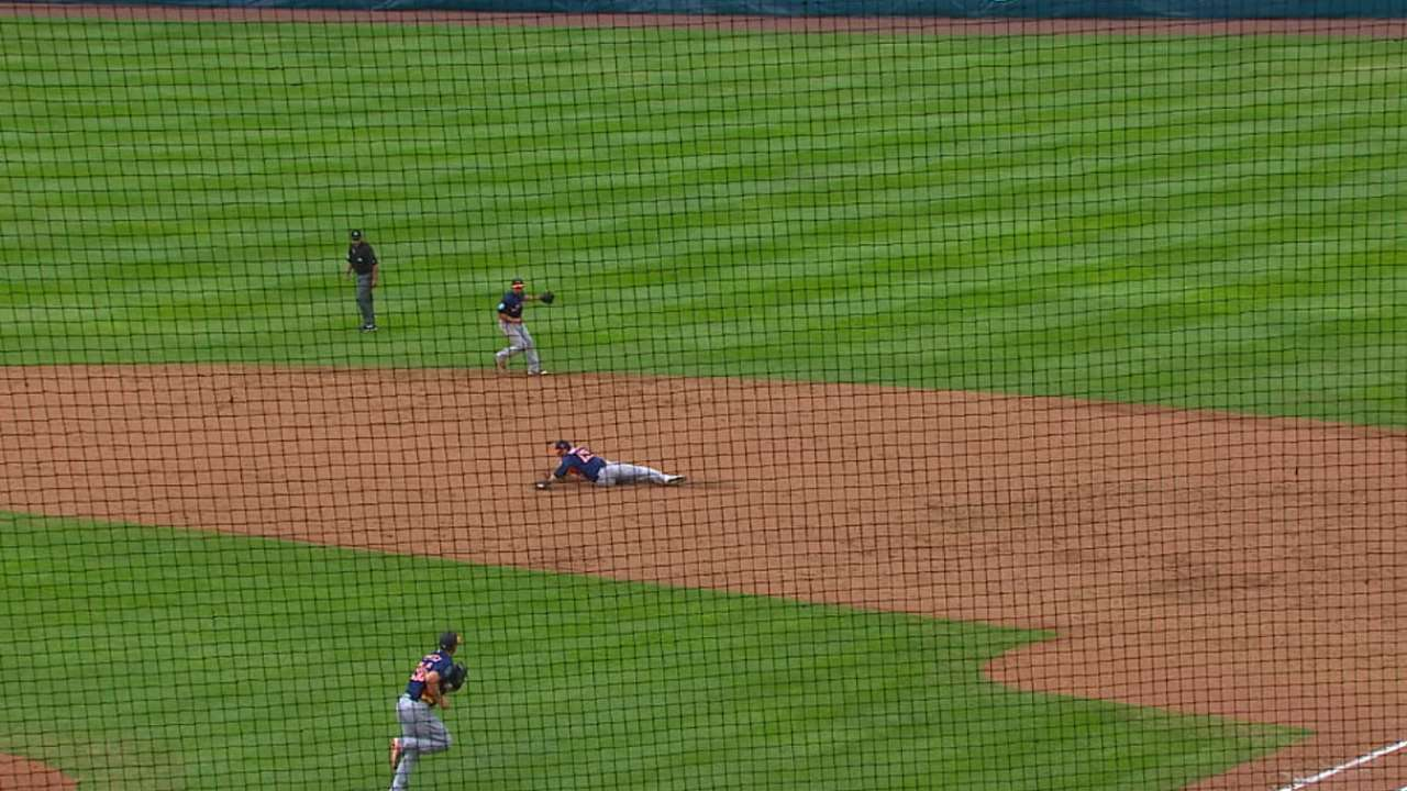 Duffy's diving stop