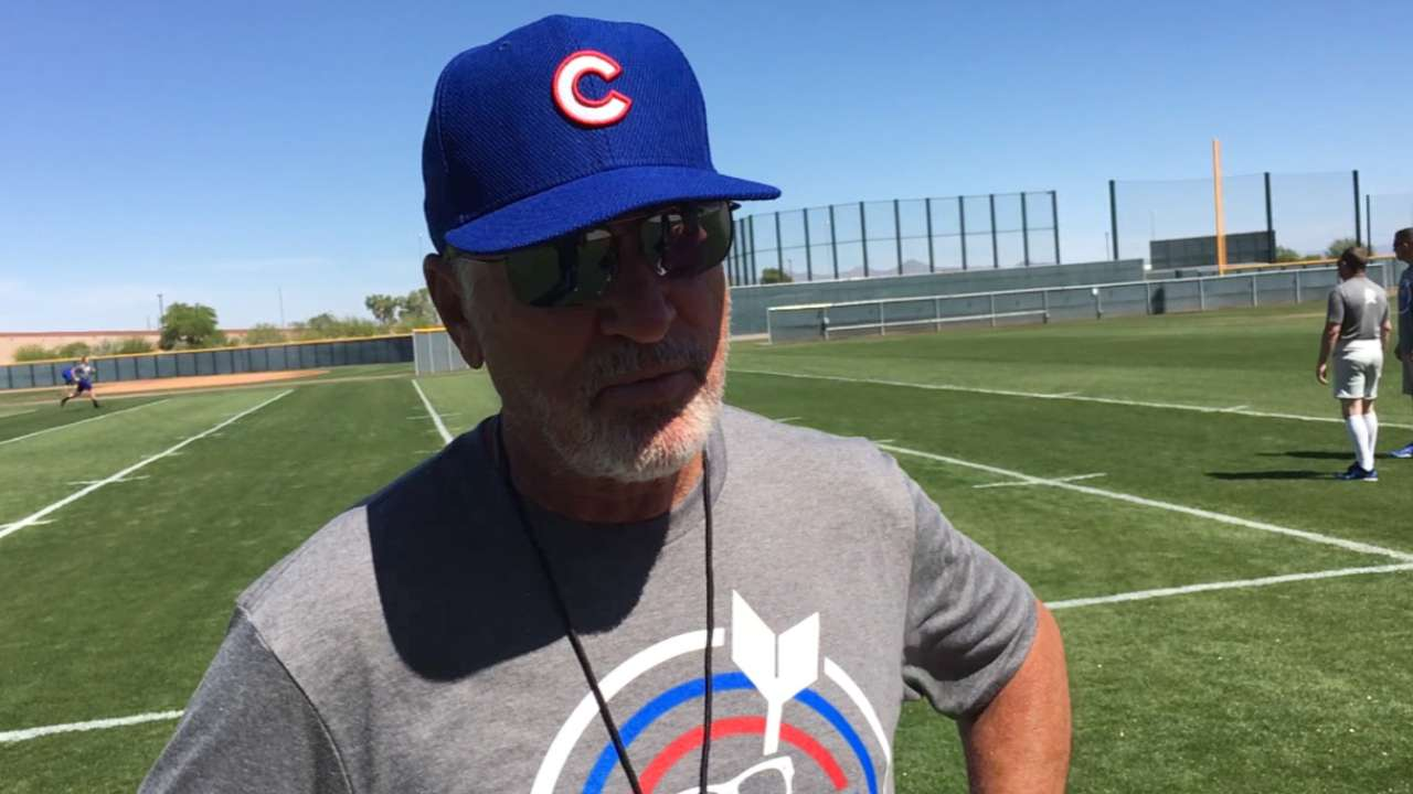 Maddon's optimism just right for Cubs