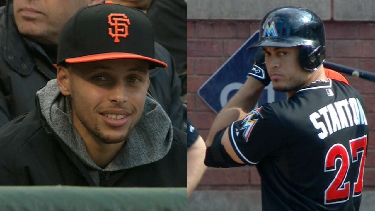 Giancarlo Stanton is baseball's answer to Steph Curry