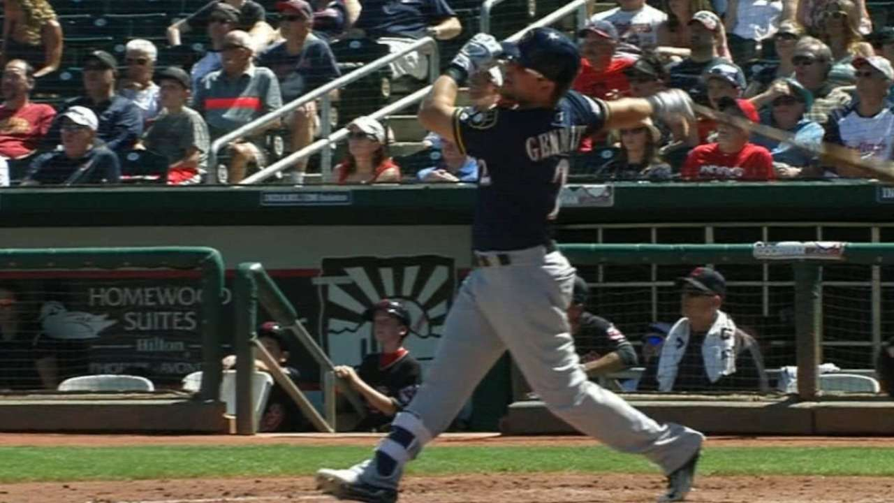 Lindor homer rallies Tribe past Brewers