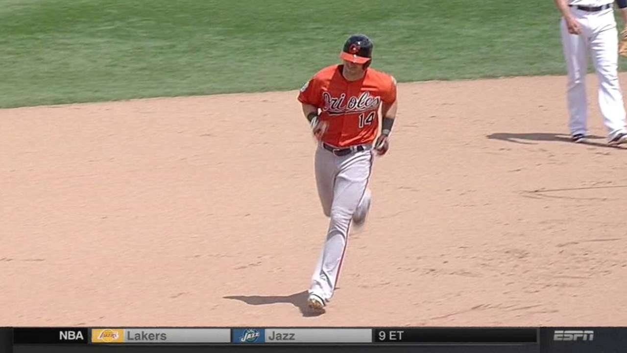 Reimold's big day at plate leads O's over Sox