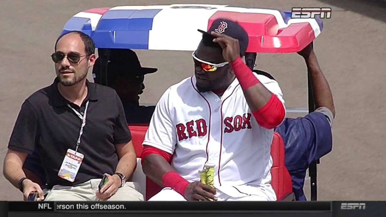 One last hurrah for Papi at Sox's spring home