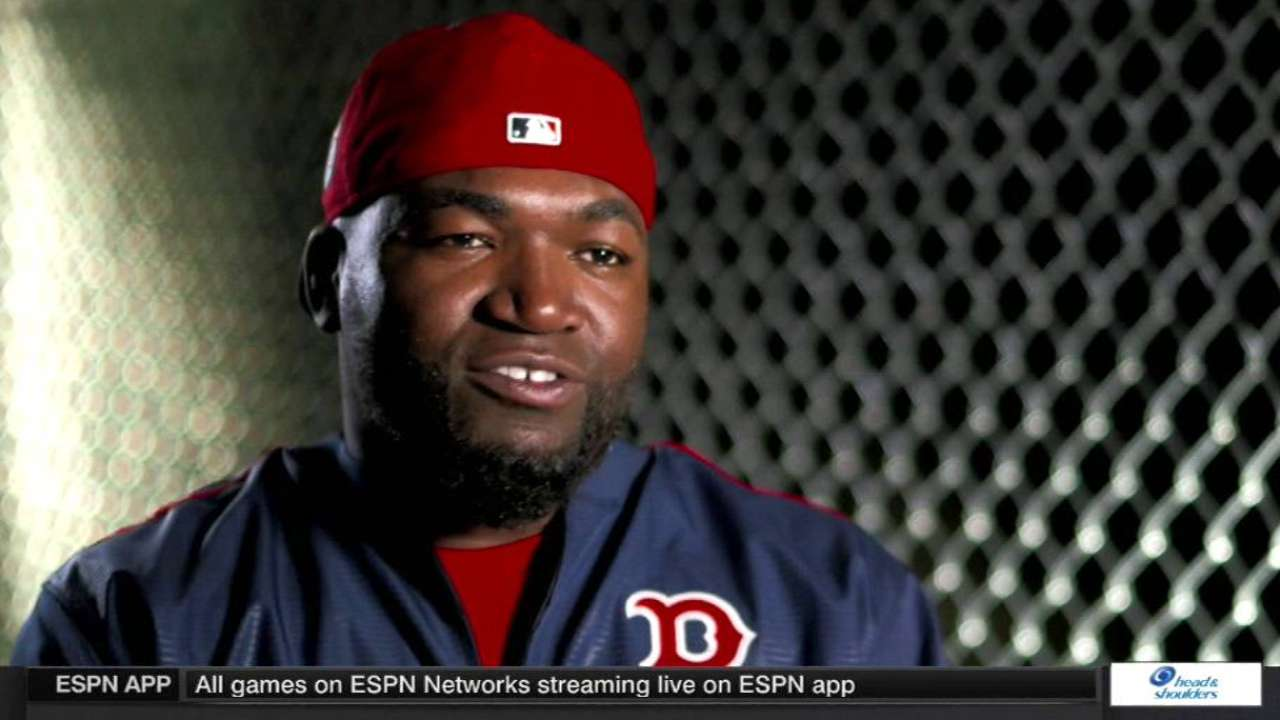 Expect Papi to put up big numbers in final year