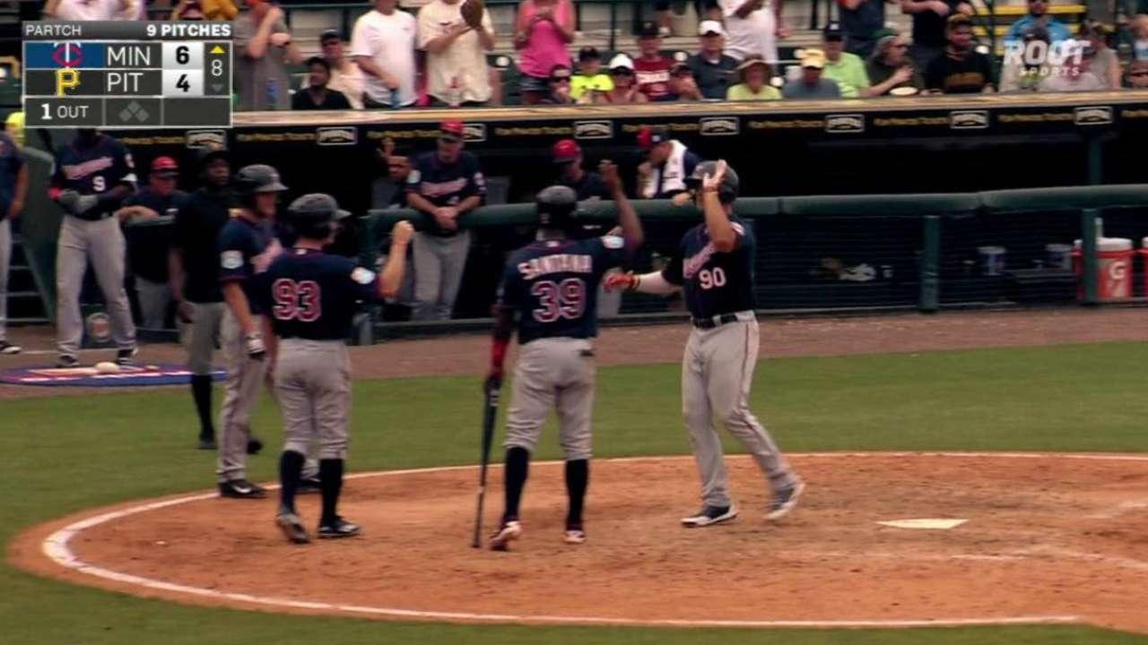 Palka's three-run homer