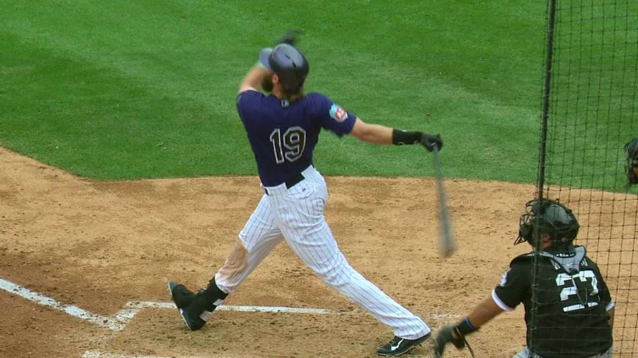 Blackmon constantly seeks ways to boost Rox