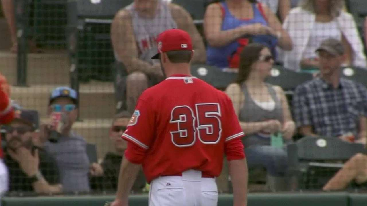 Tropeano optioned as Angels trim down roster