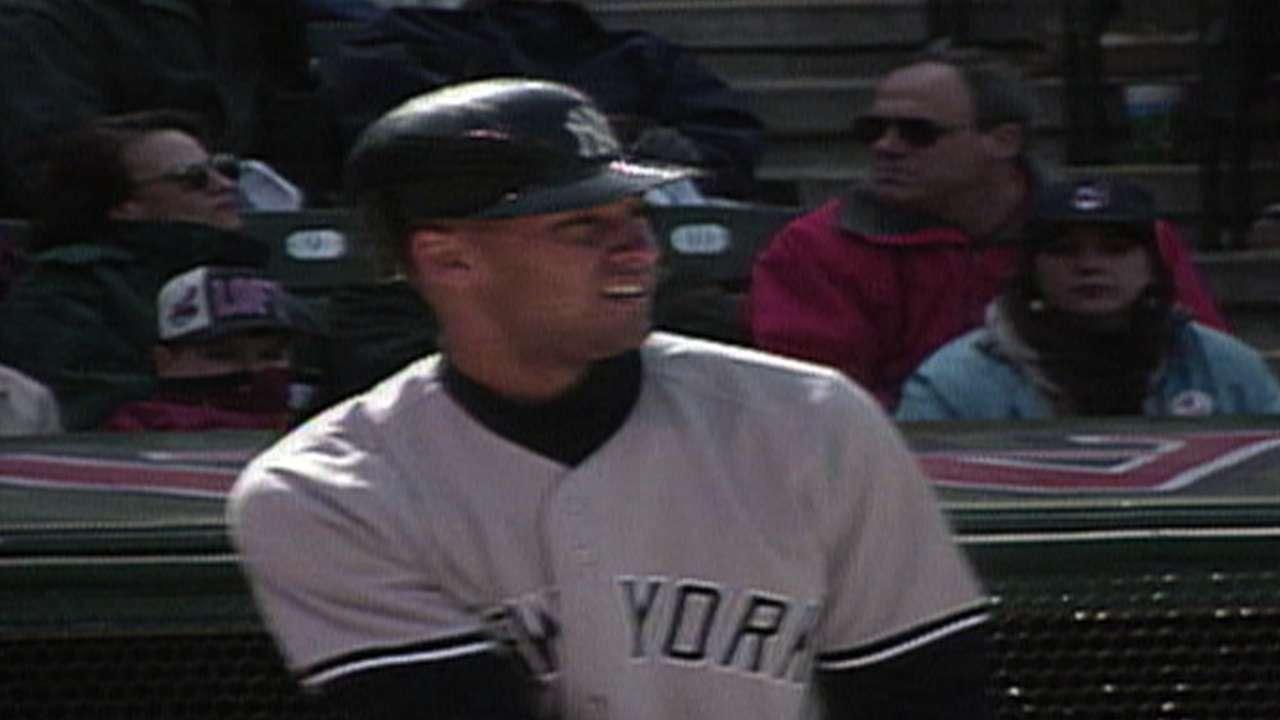 Jeter's first home run