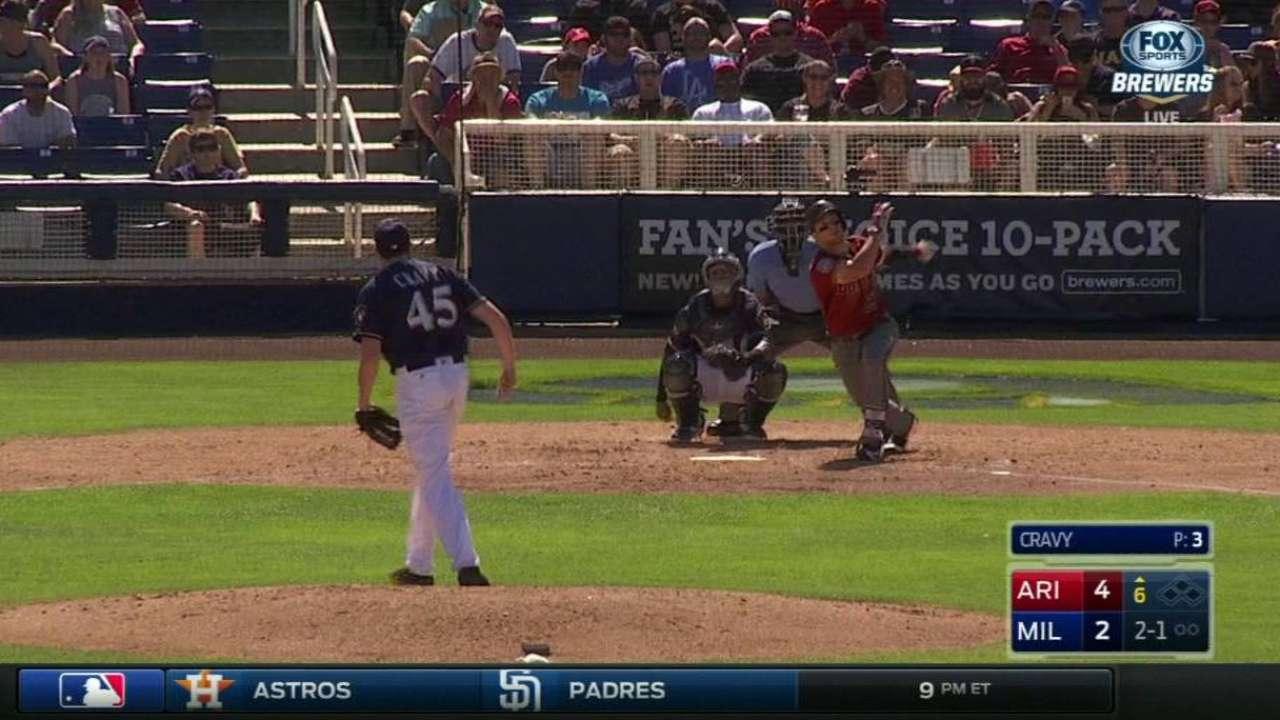 Drury's solo home run