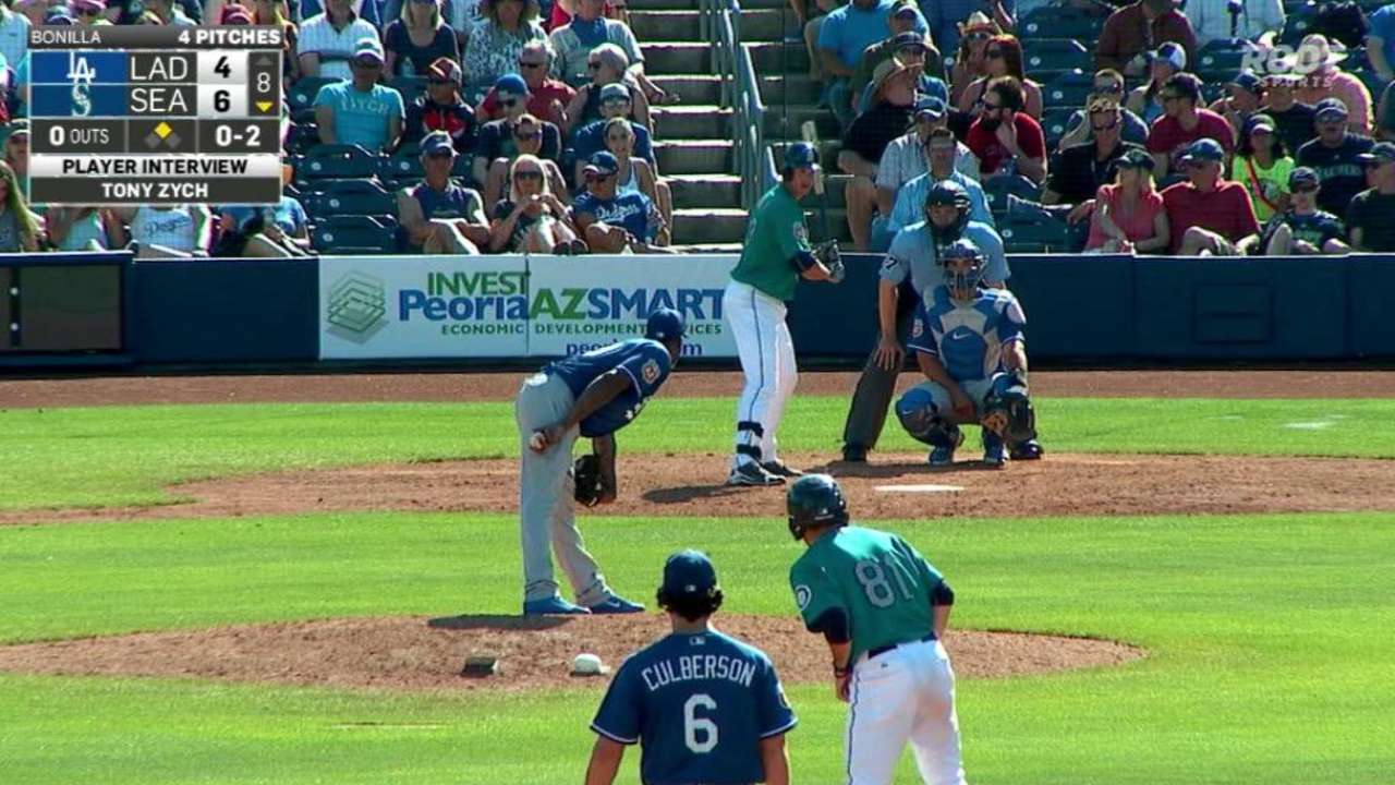 Zych a key member of Mariners' bullpen