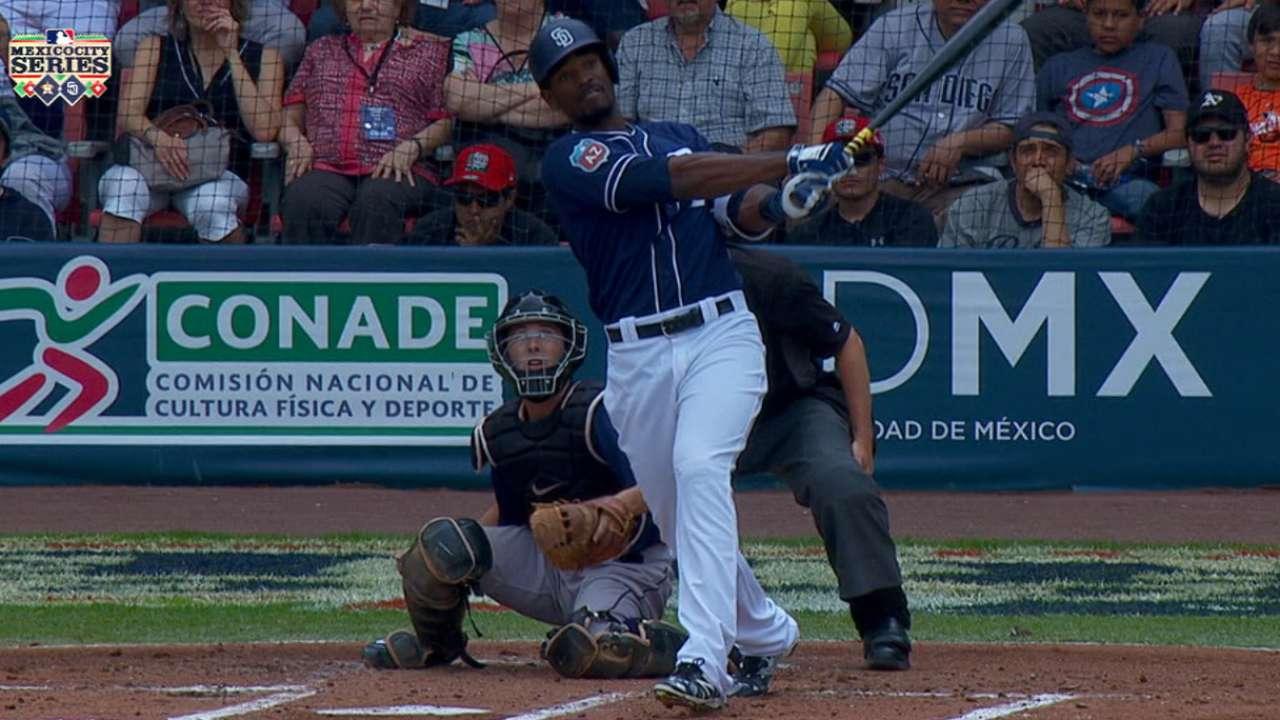 Blash's three-run homer