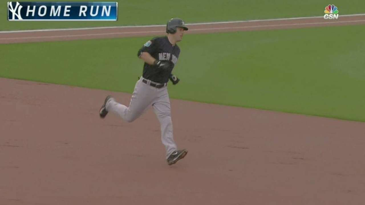 Tanaka K's 5, Ackley HRs before cancellation