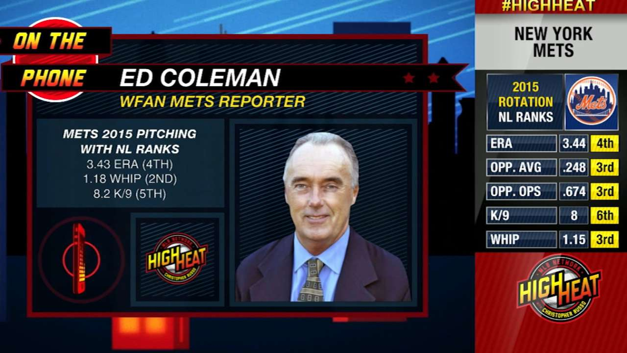 Ed Coleman on Harvey's status