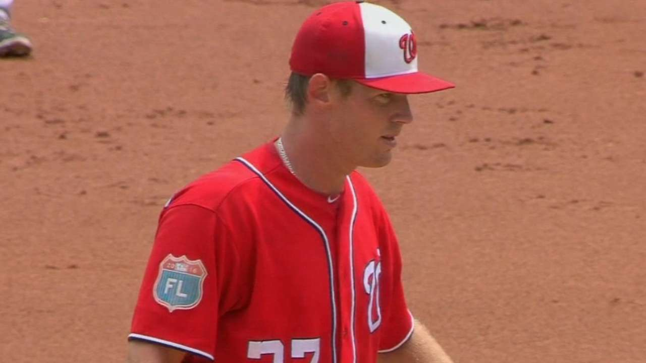 Dusty juggles Nationals' rotation plans