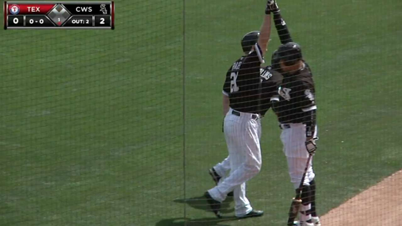 Frazier crushes two-run homer