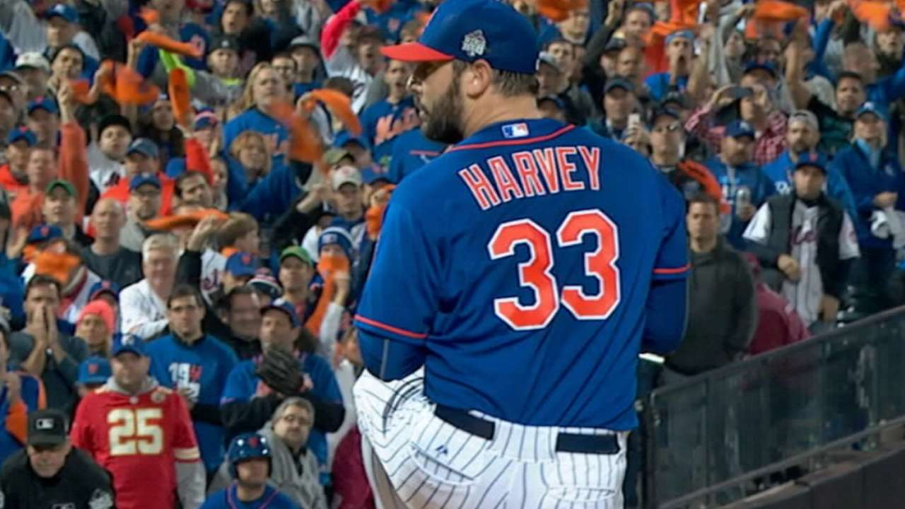 Harvey in for Opening Night