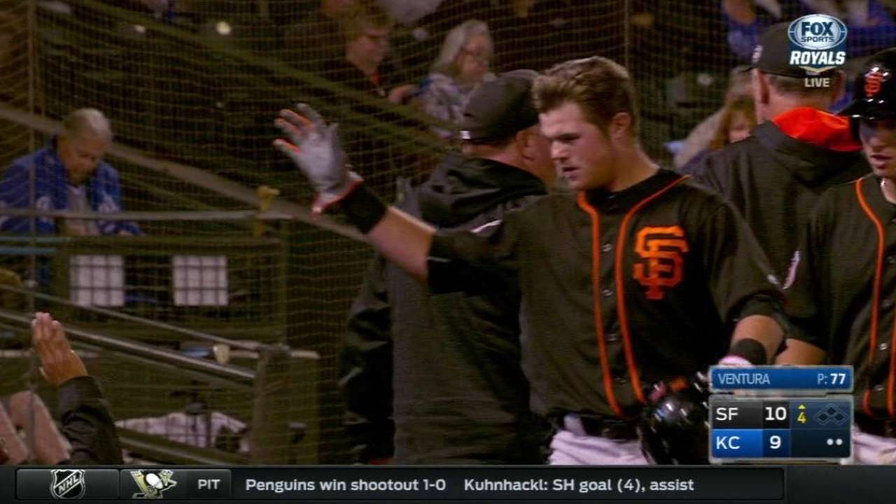 Giants' best prospects likely to start at Triple-A