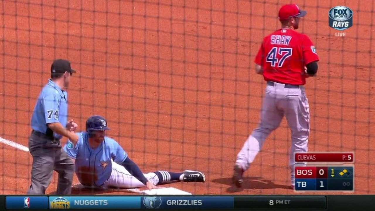 Miller, Smyly strong vs. split Red Sox