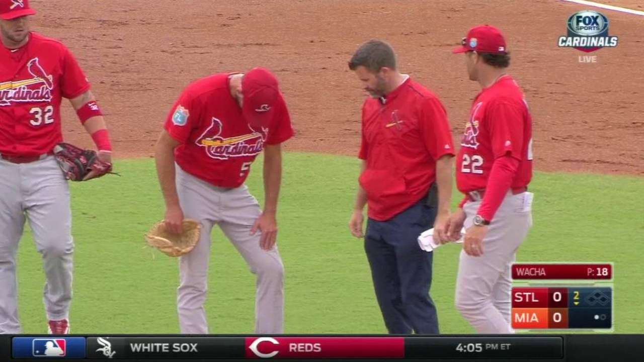 Wacha closes out spring with strongest outing