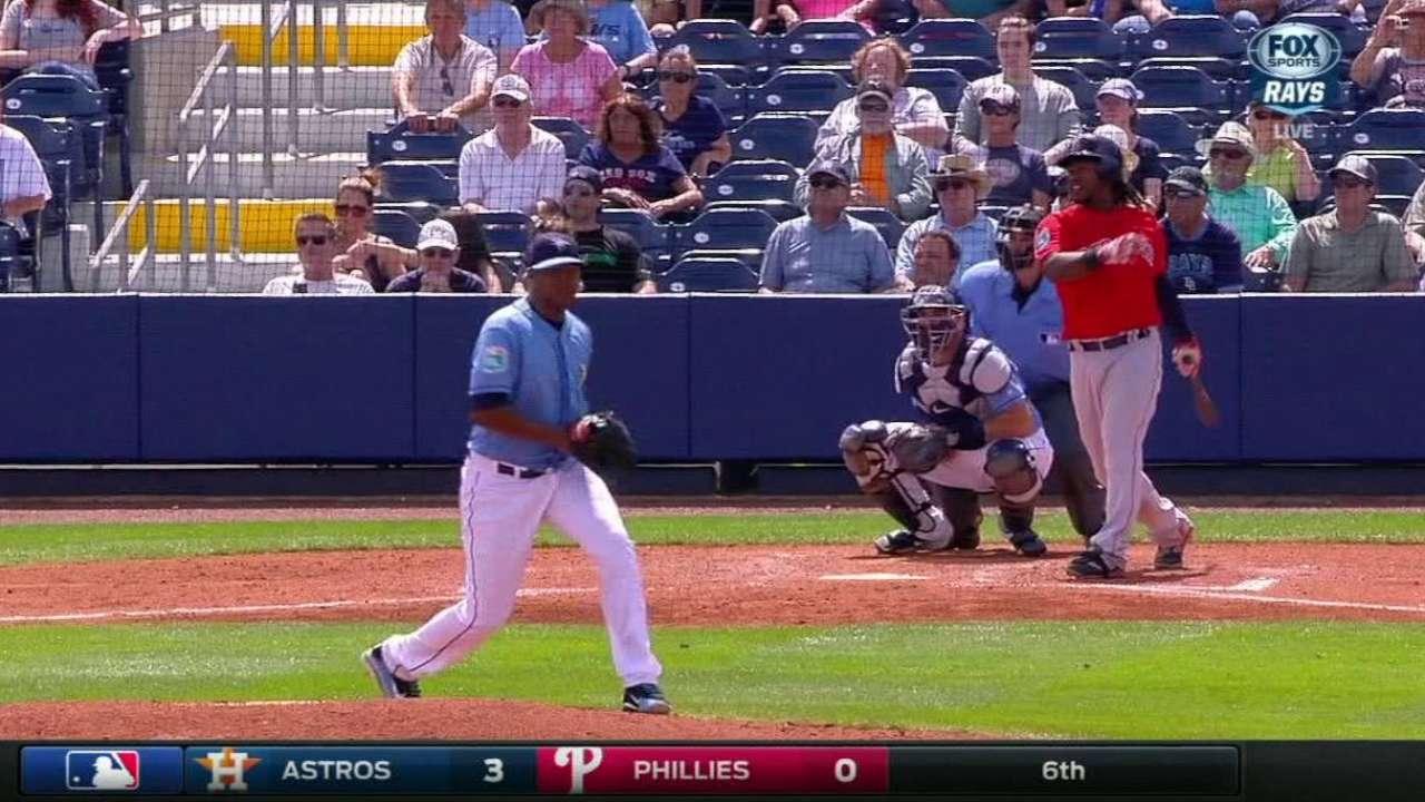 Hanley's RBI double