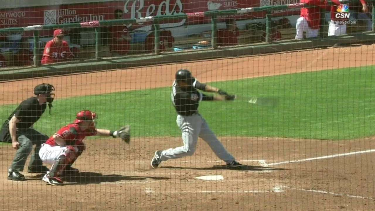 Saladino leads White Sox into old stomping grounds