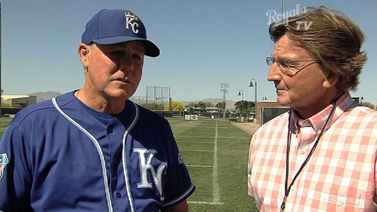 Yost knows Royals face tough odds to repeat