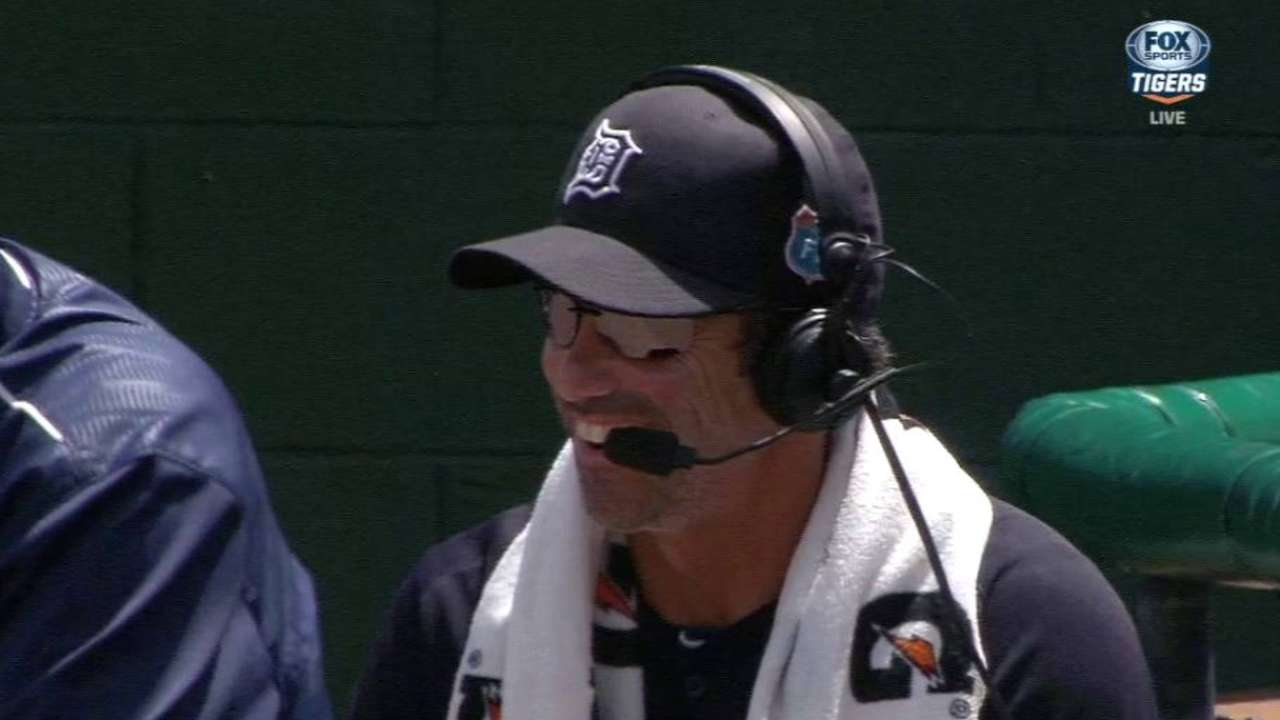Ausmus relieved Tigers avoided serious injury