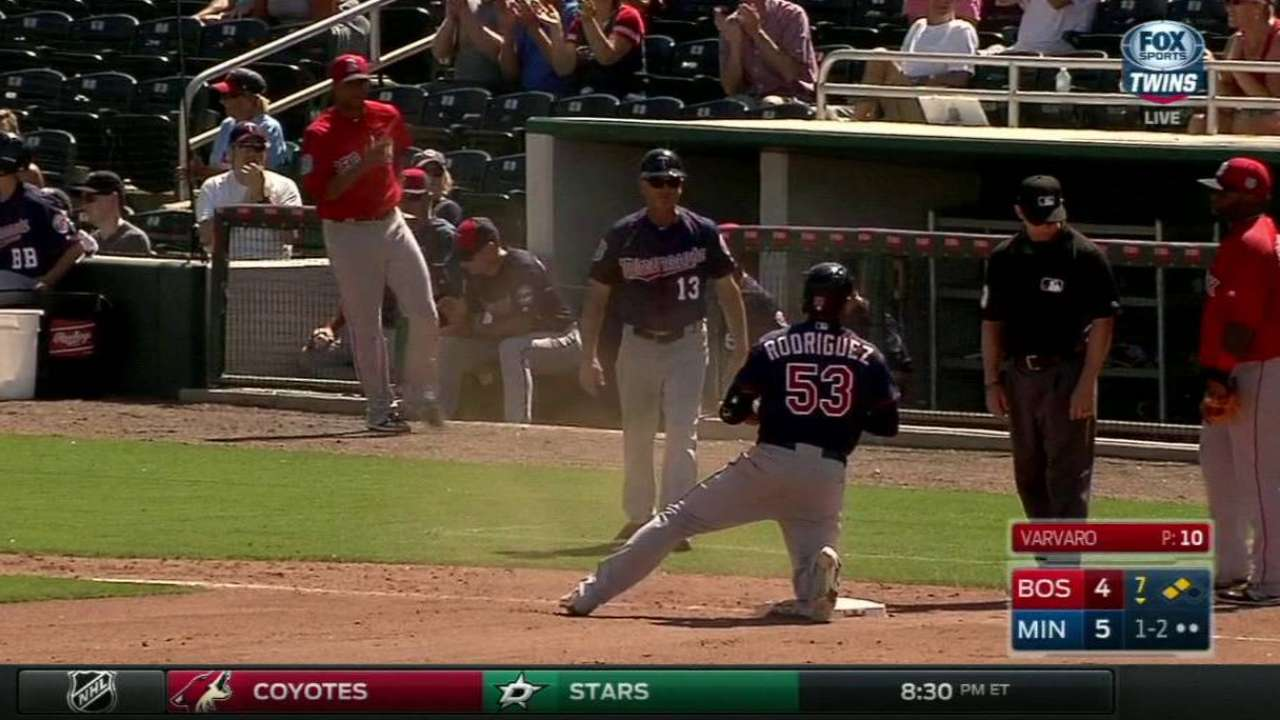 Rodriguez's two-run triple