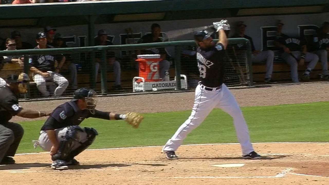 J.D. for 3! Martinez connects on trio of HRs