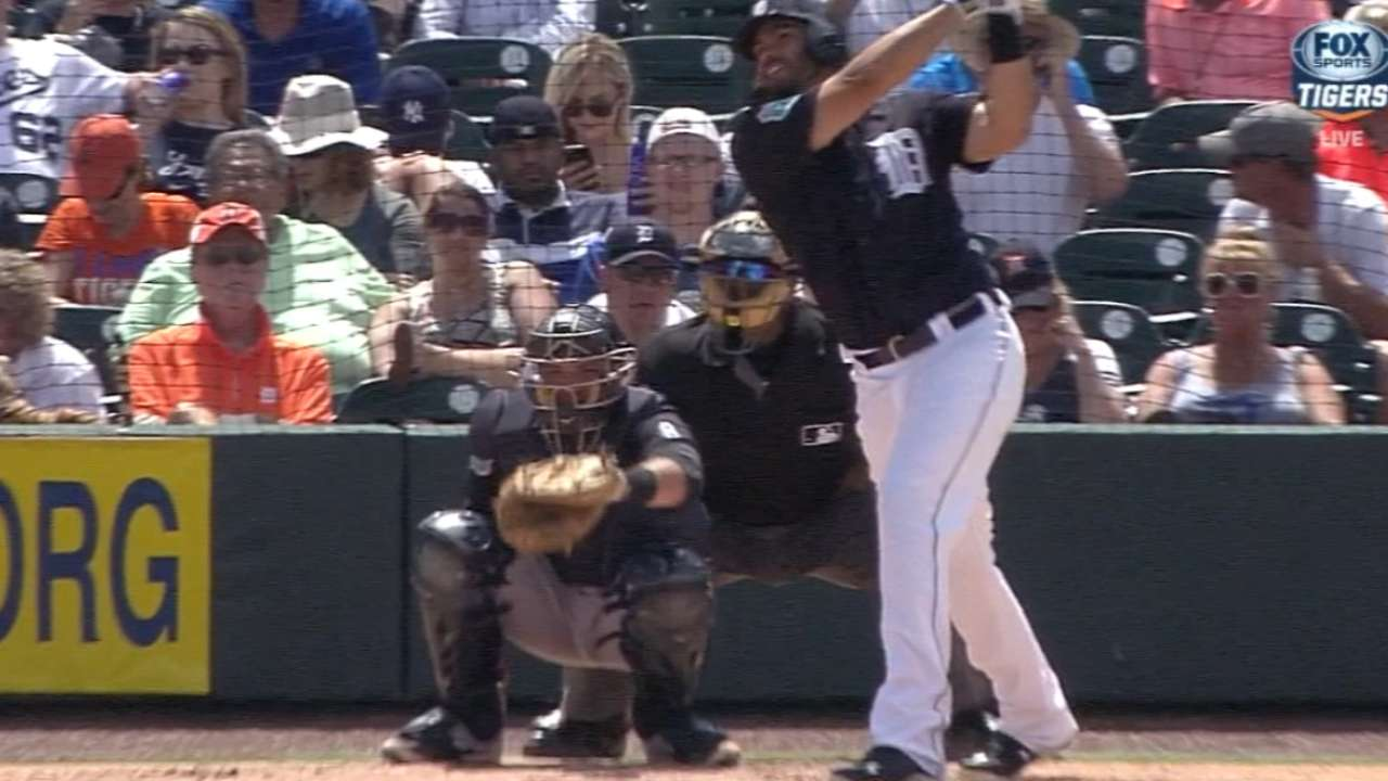 Tigers hit five homers
