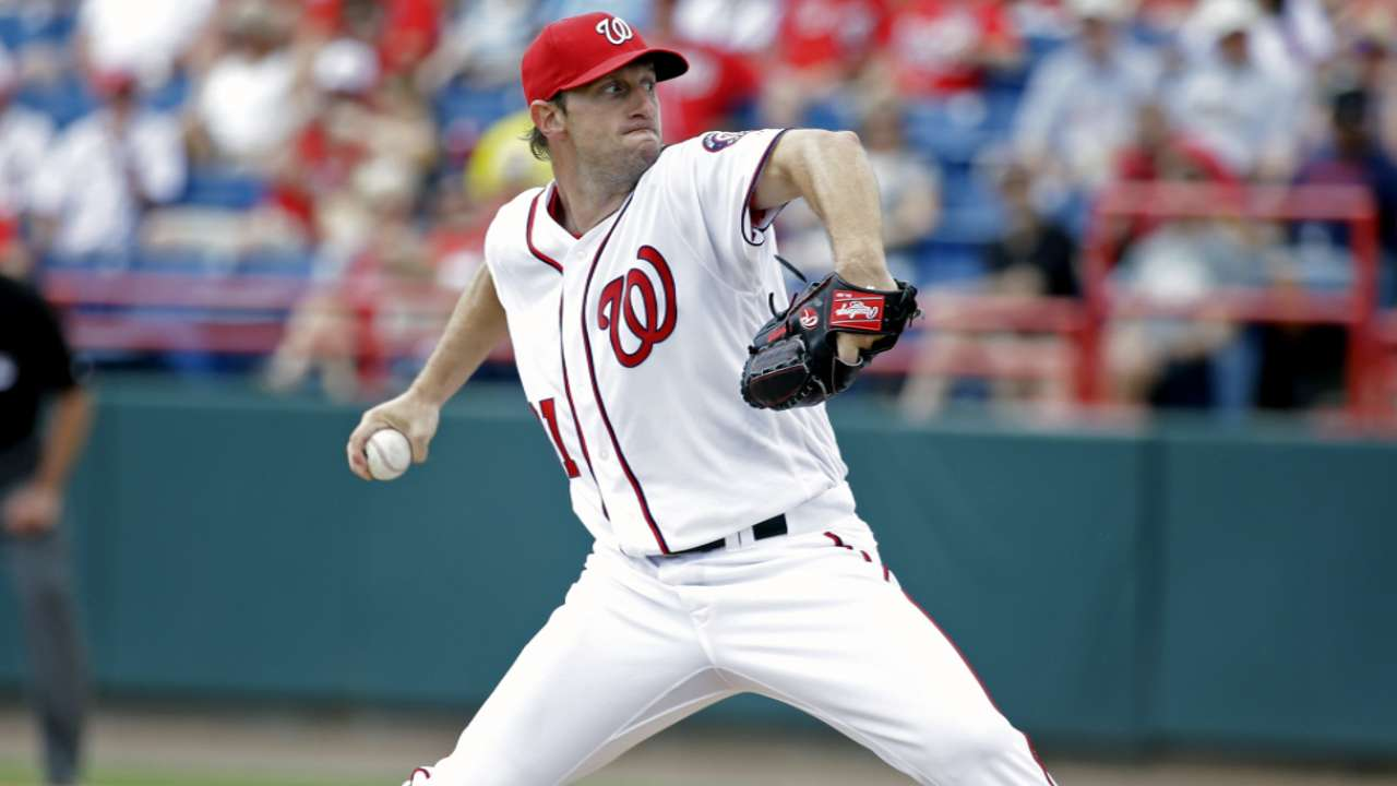 Scherzer following up no-no with Opening Day start