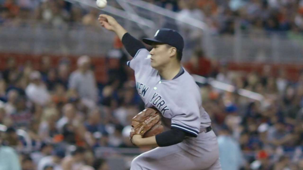 Tanaka named Yankees' Opening Day starter