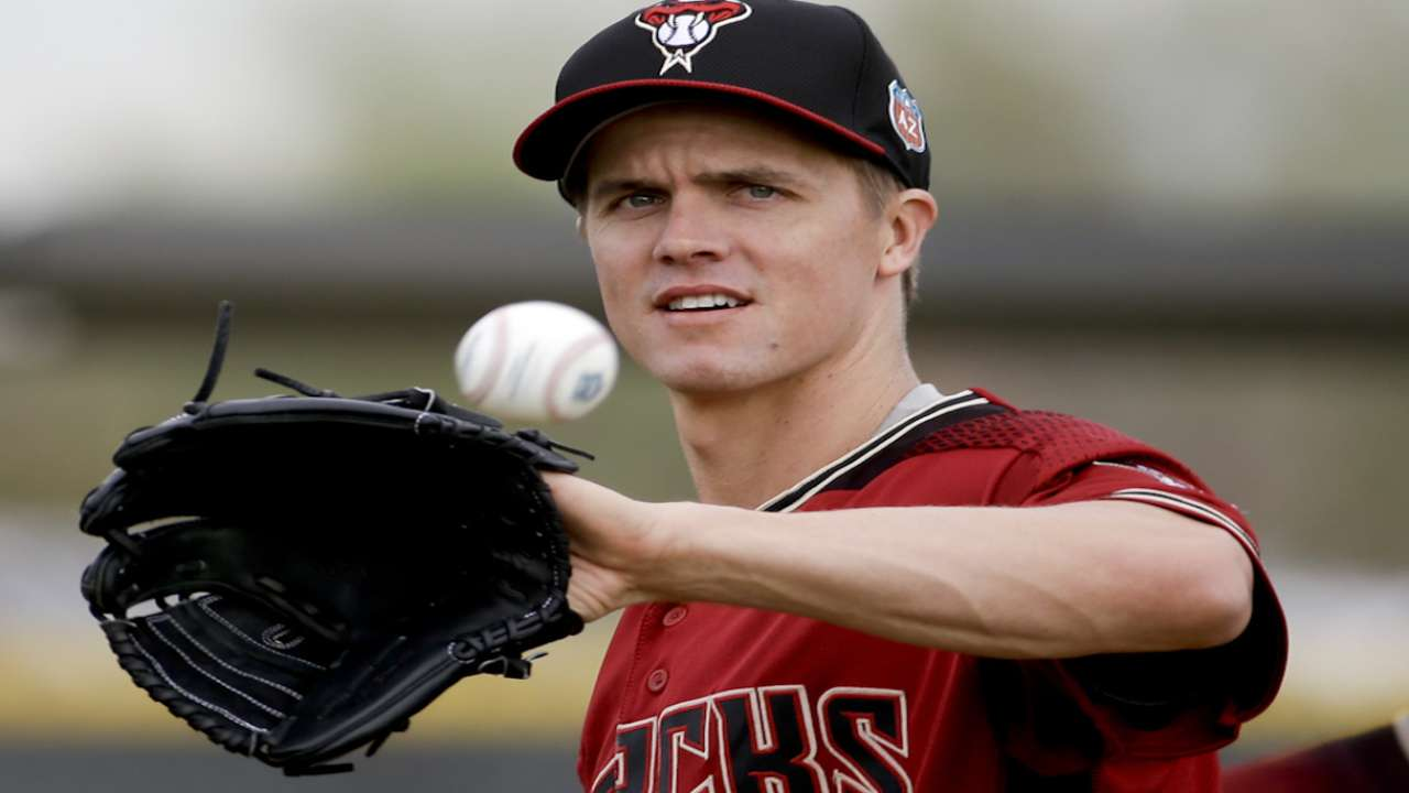 Offseason prize Greinke ready for OD start