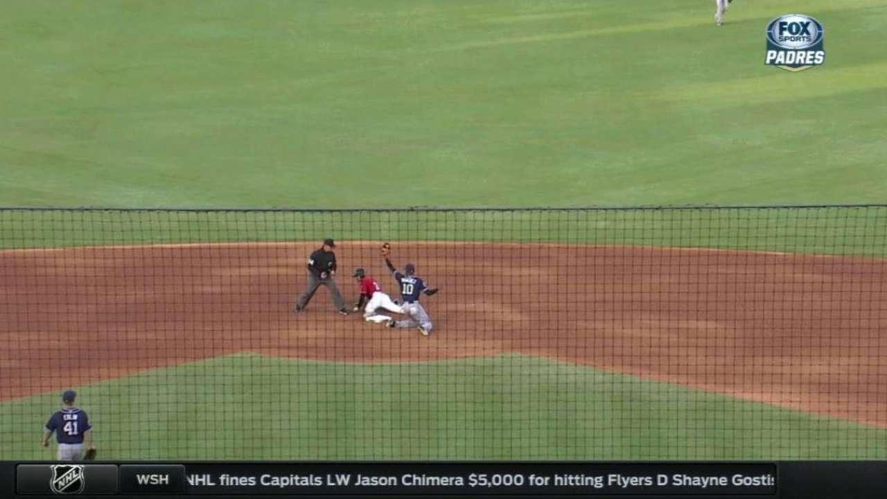 Kemp throws out Asuaje