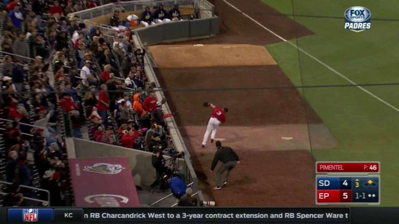 Dream come true: Schimpf reaches big leagues