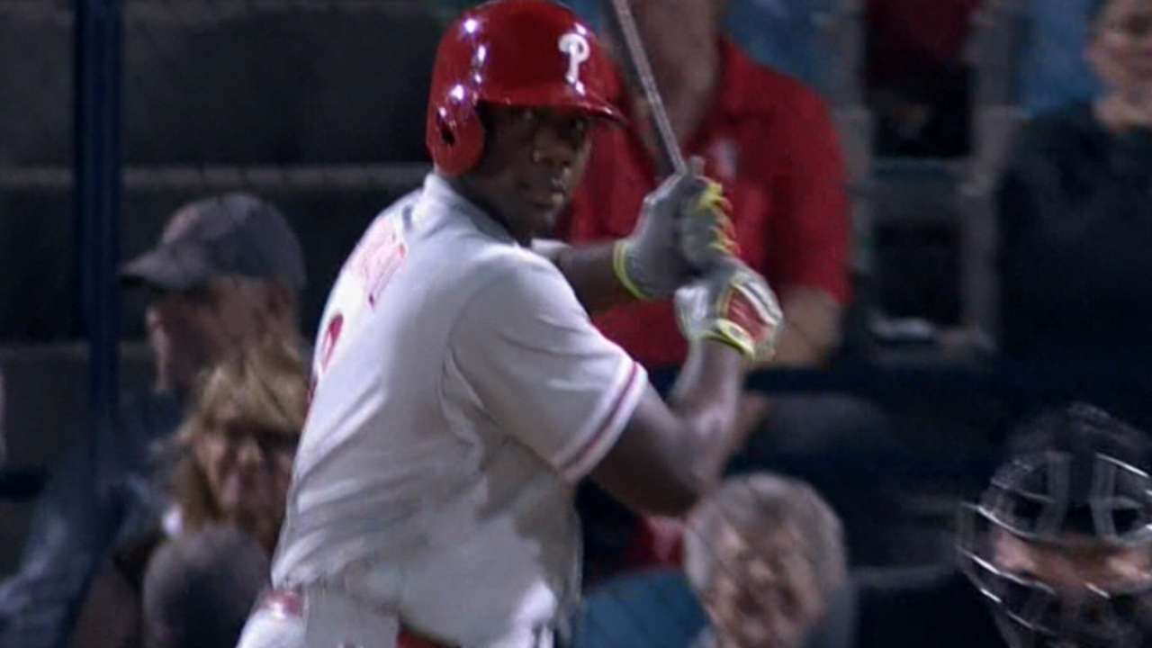 Phillies hammer eight homers