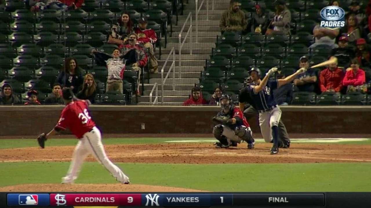 Rosales' solo home run