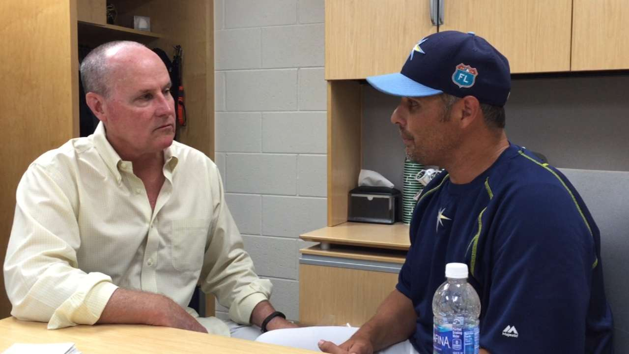 Cash shares thoughts on Rays' new season