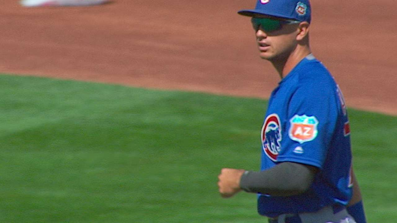 Almora realizes dream with Cubs callup