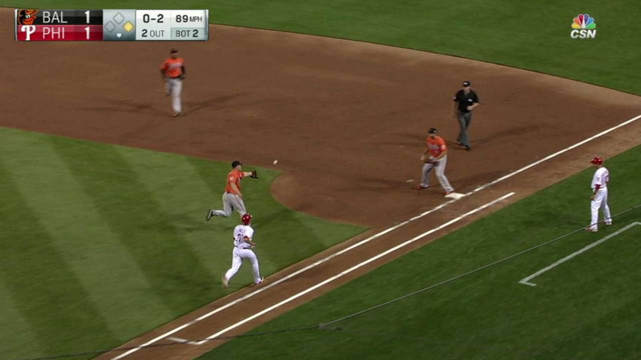 Worley makes final bid as O's beat Phillies