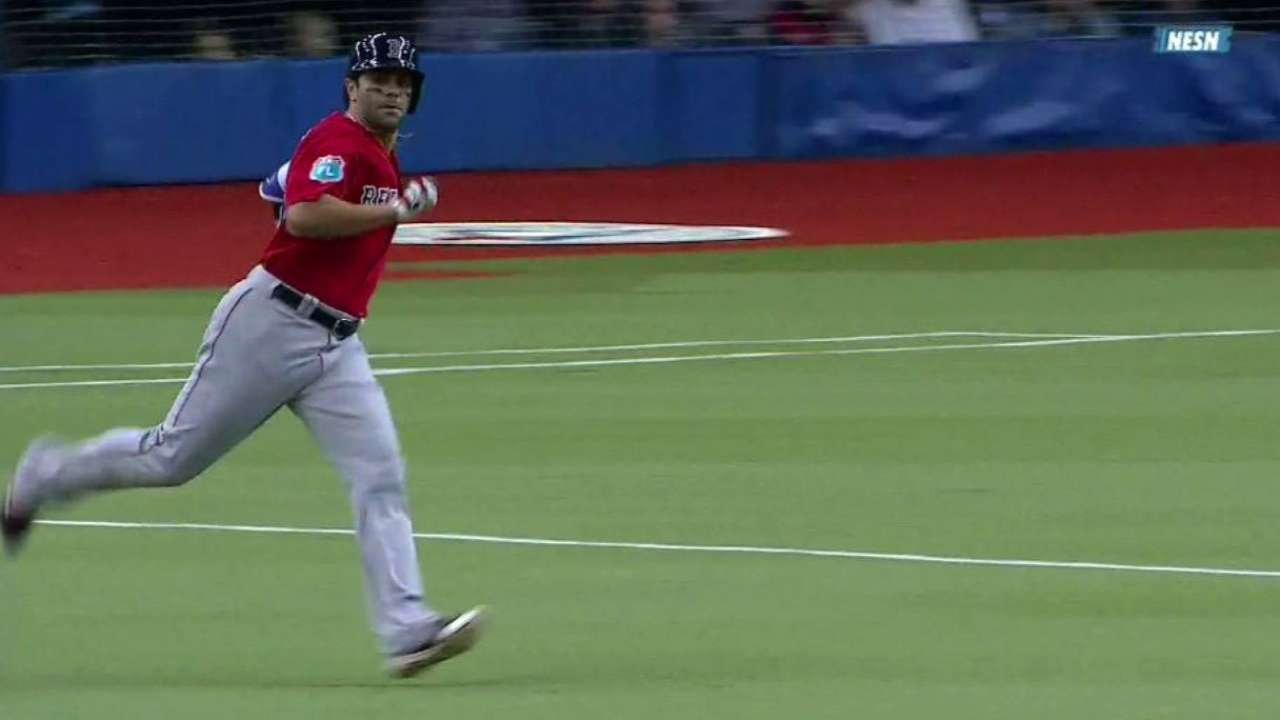 LaMarre's double in 10th lifts Sox in Montreal