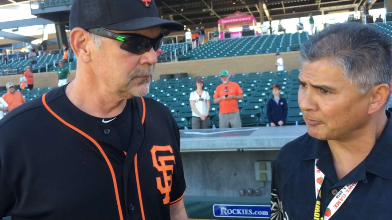Giants set 25-man roster for Opening Day