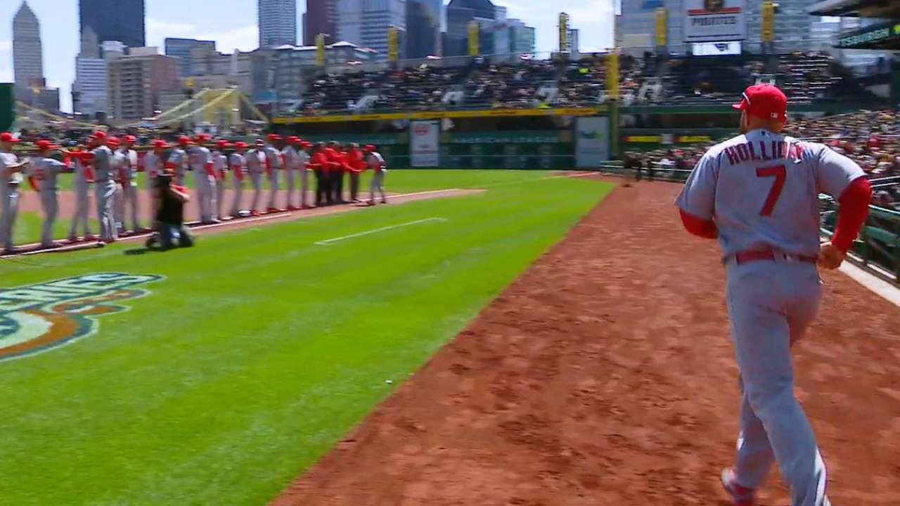 Cardinals starters introduced