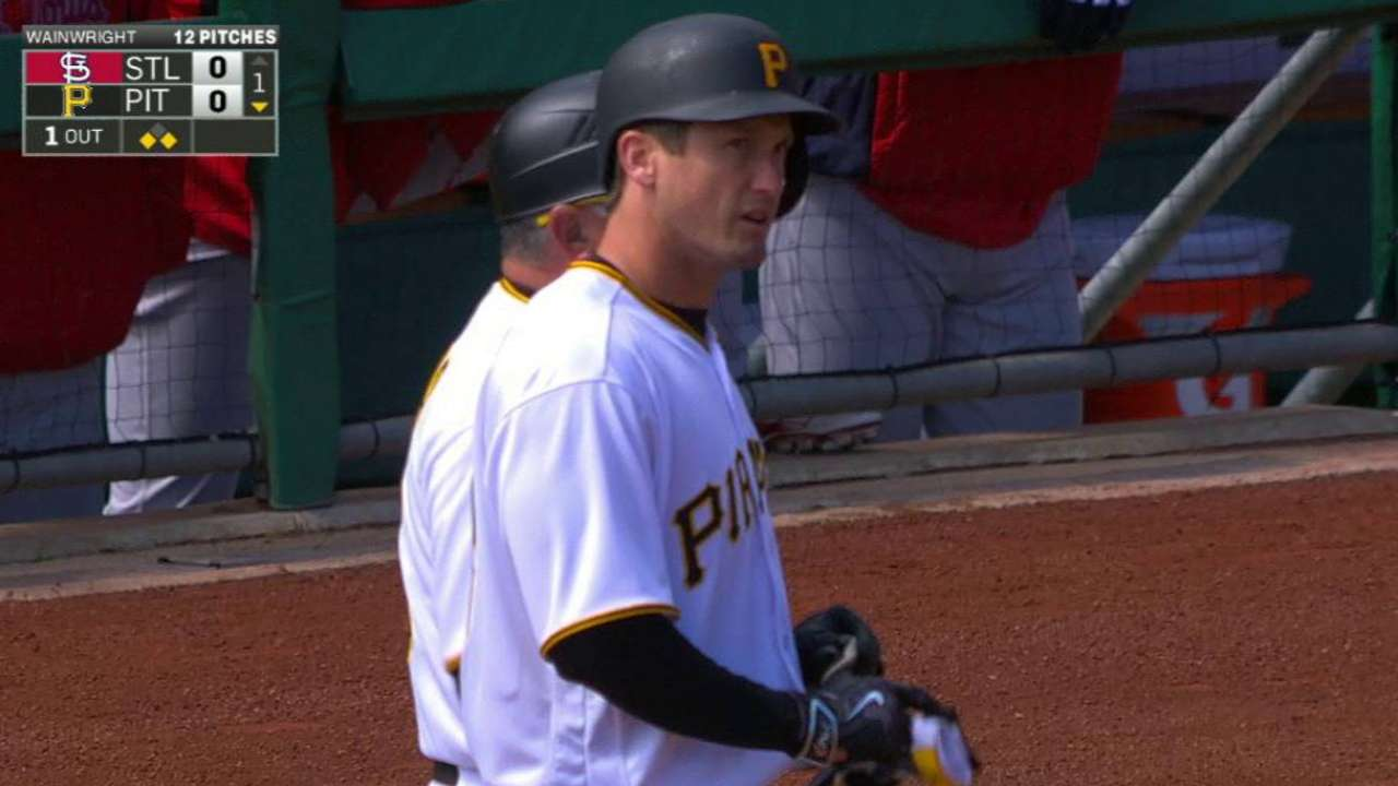Freese's single to center