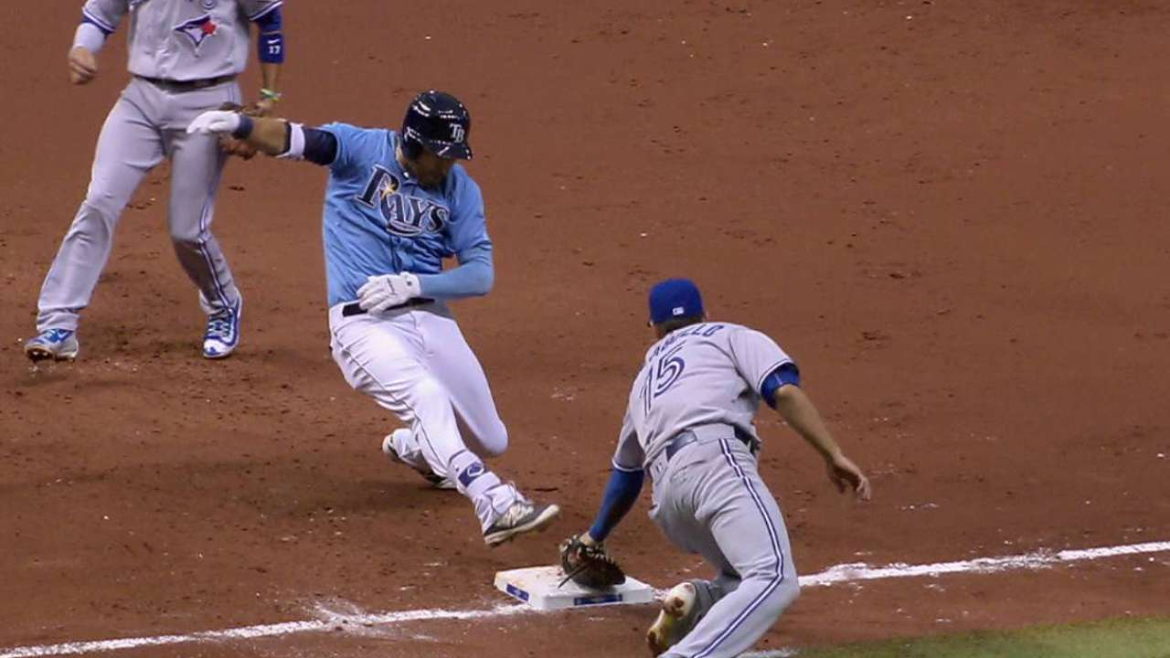 Kiermaier out on review