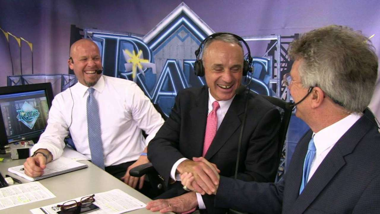 Manfred on future of Rays